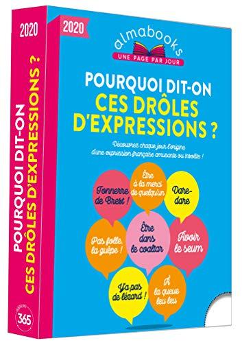 9782377613854: Almabook Pourquoi Dit-On Ces Drôles d'Expressions ? 2020