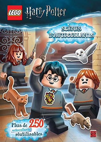 9782378890216: LEGO HARRY POTTER STICKER BOOK 01