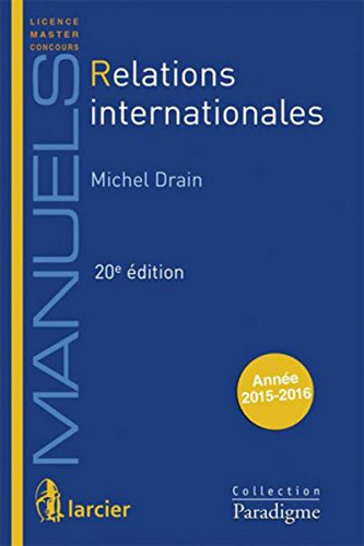 9782390130178: Relations internationales