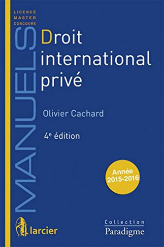 9782390130246: Droit international privé