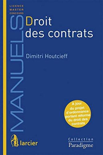 9782390130598: Droit des contrats