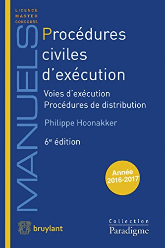 9782390131243: Procédures Civiles d'Exécution: Voies d'exécution - Procédures de distribution