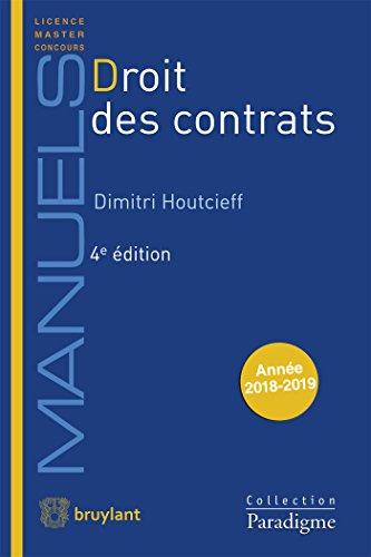 9782390131915: Droit des contrats