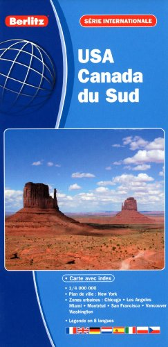 9782400180131: USA, Canada du sud (French Edition)