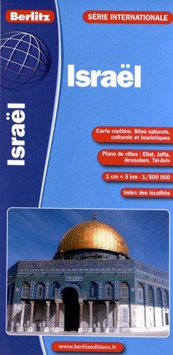 9782400180926: israel - carte routiere et touristique