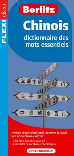 Chinois (French Edition) (2400190046) by Berlitz