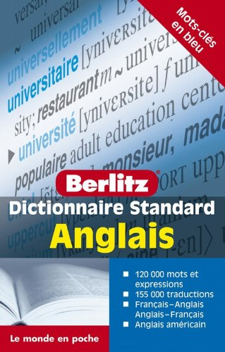 Dictionnaire standard anglais (French Edition): Collectif