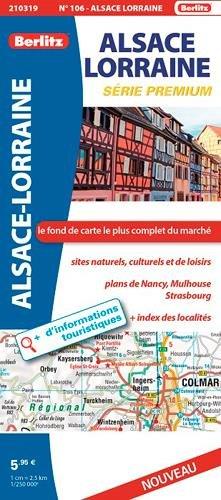 9782400210319: ALSACE LORRAINE ROUTIERE ET TOURISTIQUE PREMIUM
