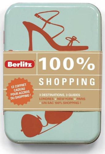 9782400230331: Coffret cadeaux 100% shopping : Londres ; New York ; Paris + un sac shopping