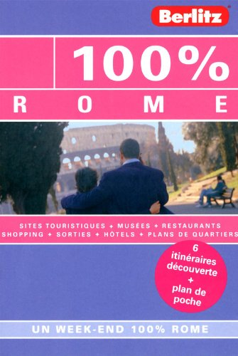 9782400240040: 100 % Rome, Guide de voyage
