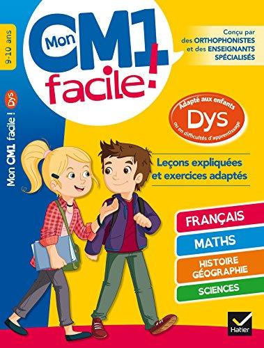 Mon CM1 facile ! adapté aux enfants: Evelyne Barge; Marco