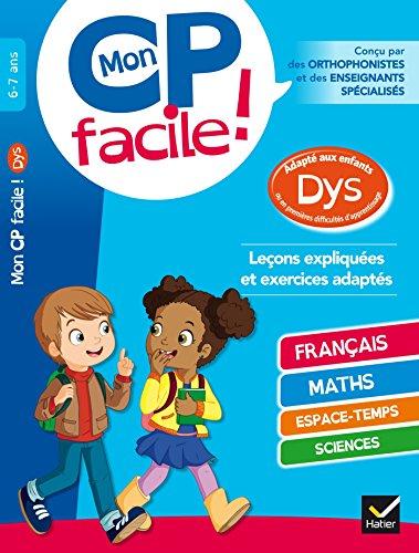 Mon CP facile ! adapté aux enfants: Evelyne Barge; Marco