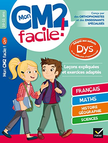 Mon CM2 facile ! adapté aux enfants: Evelyne Barge; Marco