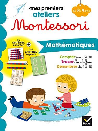 9782401042629: Montessori Mathématiques 3-4 ans