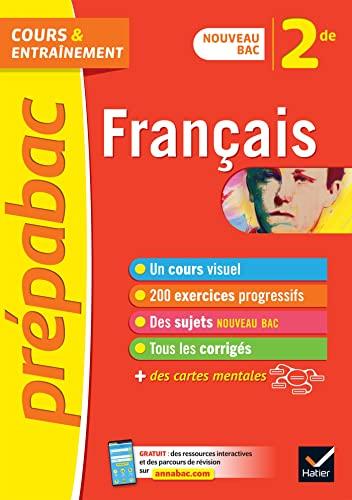 9782401052345: Français 2de - Prépabac: nouveau programme de Seconde 2019-2020