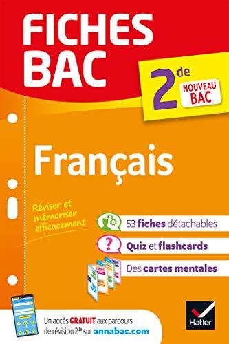 9782401052659: Fiches bac Français 2de: nouveau programme de Seconde (2020-2021)