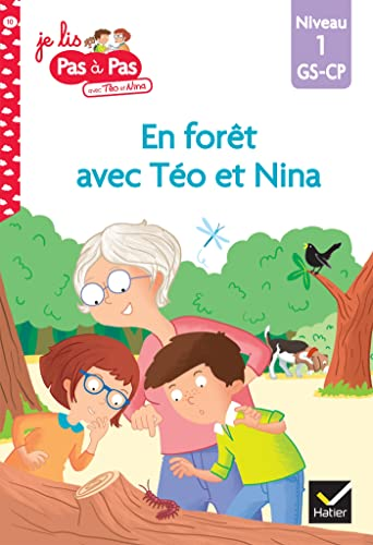 9782401054844: Téo et Nina GS CP Niveau 1 - En forêt avec Téo et Nina