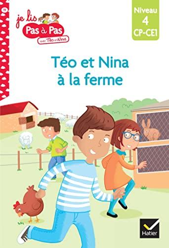 9782401059320: Téo et Nina CP-CE1 Niveau 4 : Cache-cache à la ferme
