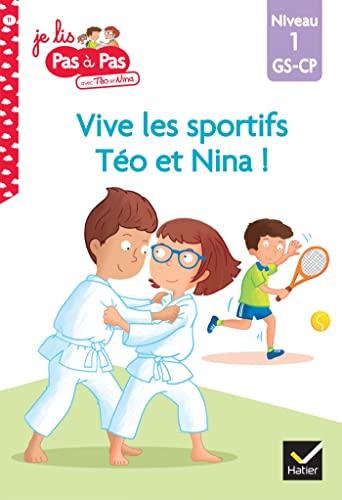 9782401059818: Téo et Nina GS CP Niveau 1 - Vive les sportifs !