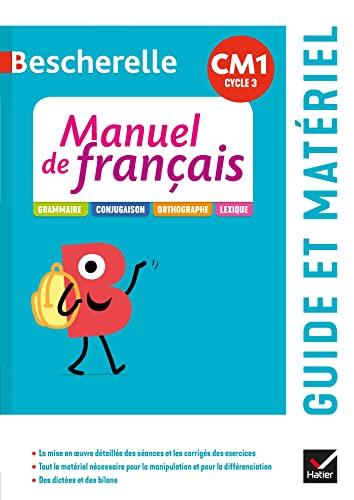 Bescherelle - Français CM1 Éd. 2020 - Guide pédagogique + ressources à télécharger (Bescherelle Manuel) (French Edition) - Cellier, Micheline; Marzouk, Viviane; Cellier, Caroline; Morel, Maud