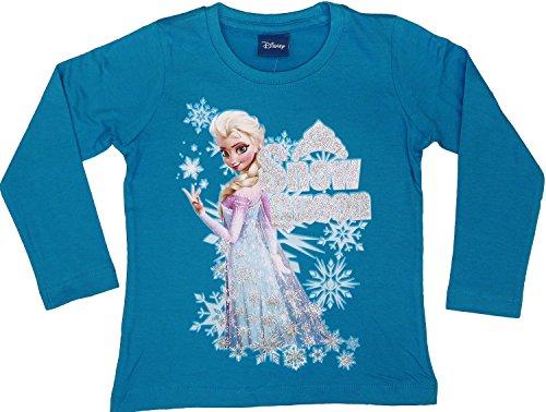 9782404105345: Disney La Reine des glaces L/S T-Shirt - Bleu - 10 ans