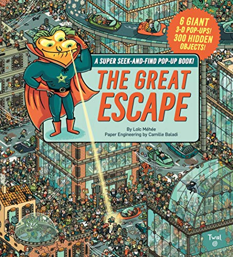 9782408004538: The Great Escape: A Super Seek-and-Find Pop-Up Book!