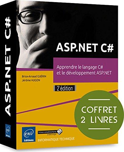 ASP.NET C# - Coffret de 2 livres: Jérôme HUGON Brice-Arnaud
