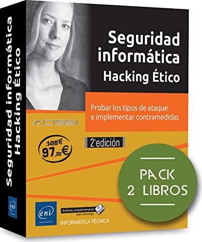 9782409014604: Pack: Seguridad informática. Hacking ético - 2ª edición