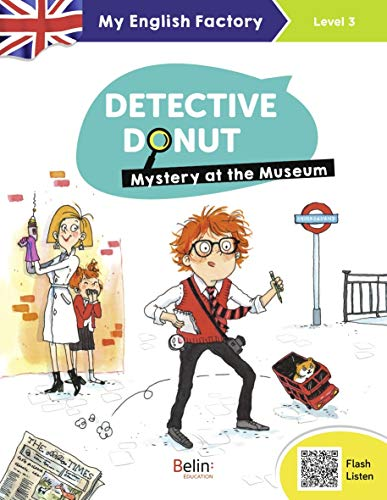 9782410012354: Detective Donut : Mystery at the Museum