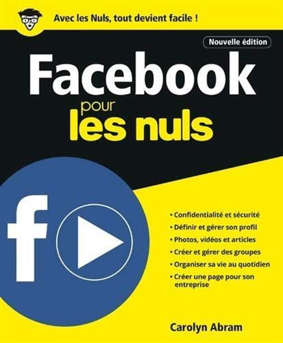 9782412045114: Facebook pour les Nuls, Nelle édition