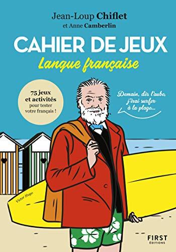 9782412046210: Cahier de jeux spécial langue française