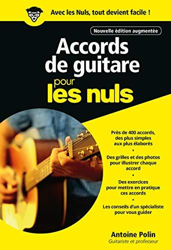9782412048016: Accords de guitare Pour les nuls, 3e édition