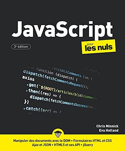 9782412066881: JavaScript pour les Nuls, grand format, 3e éd