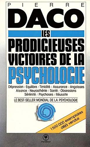 9782501001519 Prodigieuses Victoires Psychologie Moderne Abebooks Daco P 2501001516