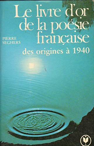 9782501002370: LIVRE D'OR POESIE FRANCAISE OR