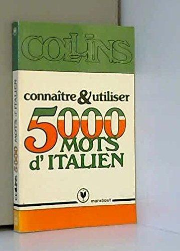 9782501003940: Conna?tre et utiliser 5000 mots d'italien