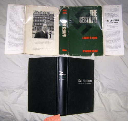 9782501007672: The Gestapo A History Of Horror [translated from the French by Mervyn]
