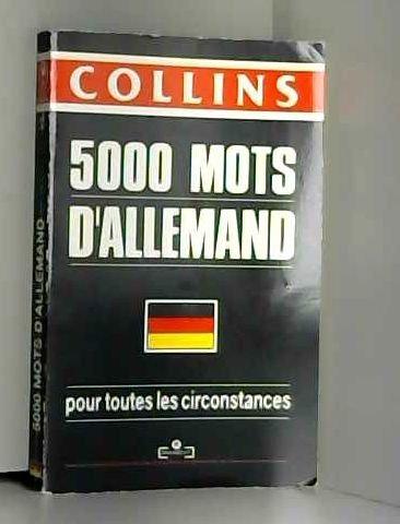 9782501014489: Conna�tre et utiliser 5000 mots d'allemand