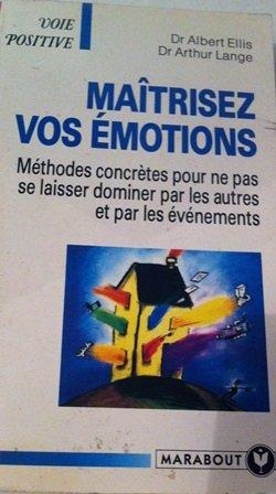 9782501022057: Maîtrisez vos émotions