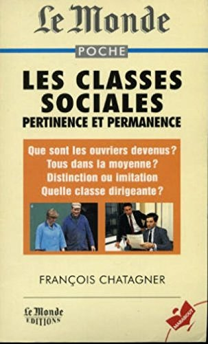 9782501025683: Les classes sociales : Pertinence et permanence