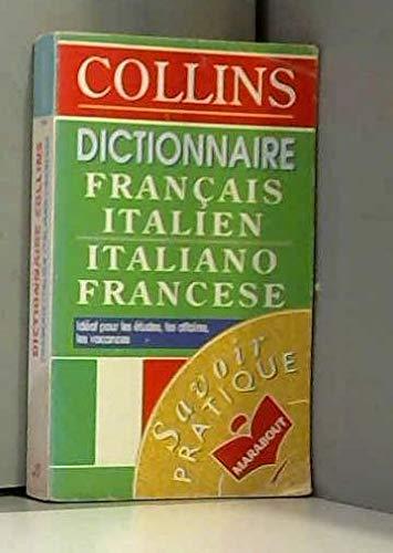 9782501025874: Dictionnaire Collins français-italien, italien-français