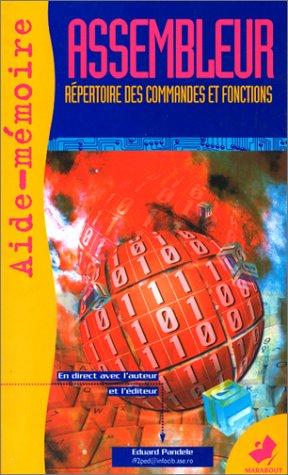 9782501026079: AIDE-MEMOIRE DE L'ASSEMBLEUR. Toutes les instructions du 8086 au Pentium