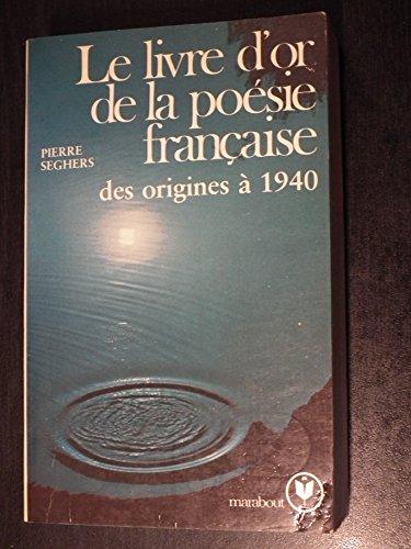 9782501026352: Le Livre D' or De LA Poesie Frances Des Orignes (French Edition)