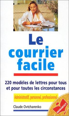9782501026529: LE COURRIER FACILE (Savoir pratique)