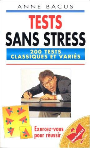 9782501026963: Tests sans stress