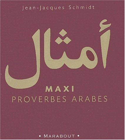 9782501038850: Maxi proverbes arabes