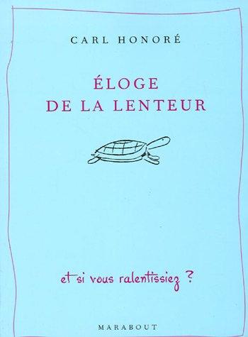 9782501044875: Eloge de la lenteur (French Edition)