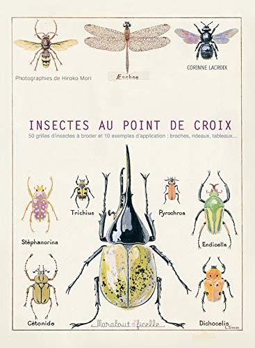 9782501046510: Insectes au point de croix (Marabout d'ficelle)