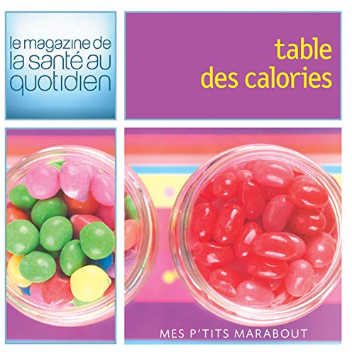 9782501048699: Table des calories