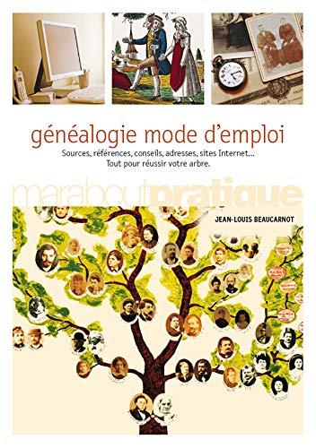 Généalogie mode d'emploi (Marabout Pratique): Jean-Louis Beaucarnot